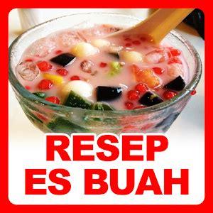 resep es buah  pc