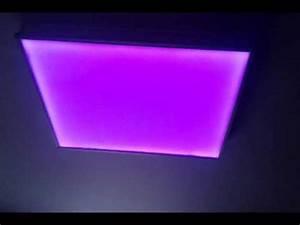 Led Deckenleuchte Rgb : led deckenlampe rgb glas pendelleuchte modern ~ Watch28wear.com Haus und Dekorationen