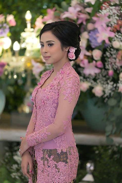 model kebaya modern brokat rok batik solo model baju