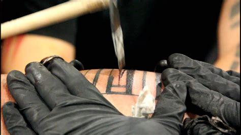 peter suluape hand samoan tatau hand tapped tattoo