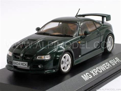 norev MG Xpower SV-R (Dark Green Metallic) (1/43 scale model)