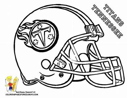 Football Coloring Alabama Pages Printable Getcolorings