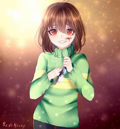 Chara Undertale Fanart Deviantart Keyli Anime Drawings