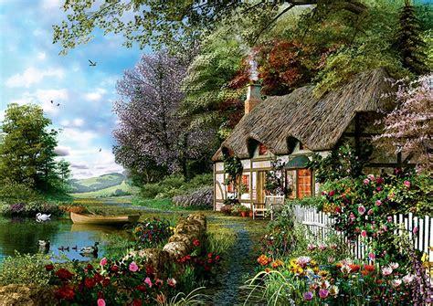 cottage  teile trefl puzzle  kaufen