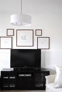 Ways to decorate the tv wall bored art