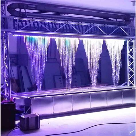 Led Lights Graphical Water Curtain Indoor Artificial