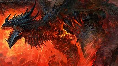 Warcraft Cataclysm Dragon Wallpapers Castle Wow Destroying