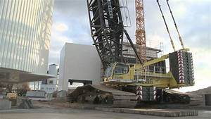Crane Load Rating Chart Liebherr Lr 1600 2 Assembly Of A Mixing Tower Youtube