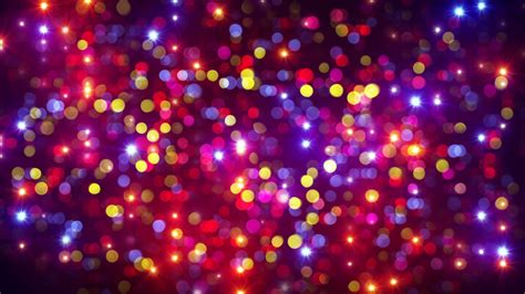 disco ball floor l disco party light flashes and bokeh background loop 4k