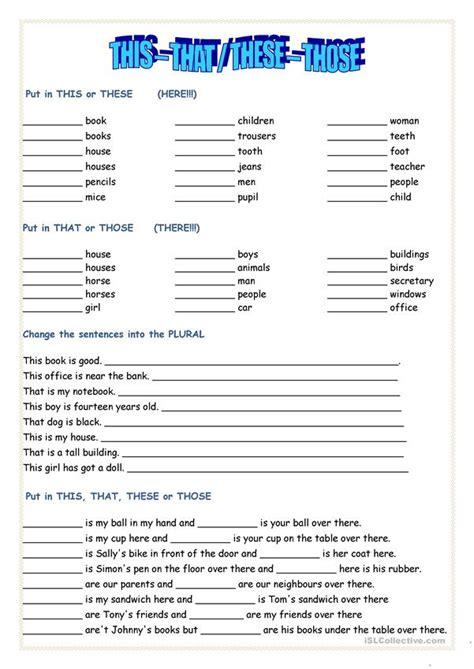 english esl worksheets