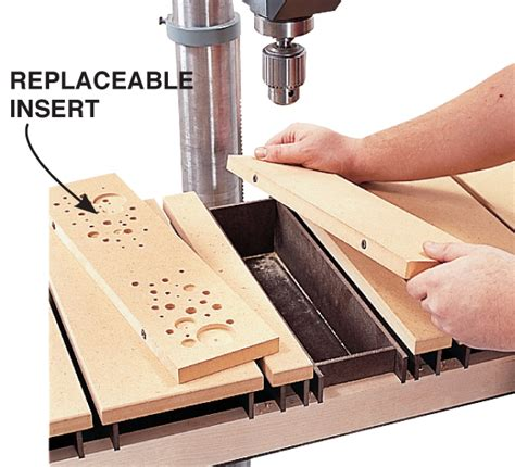 drill press table aw popular woodworking magazine