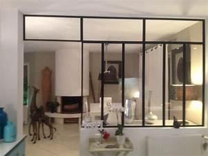 Verriere Interieure Metallique : verri re m tallique rennes 35 ille et vilaine ~ Premium-room.com Idées de Décoration
