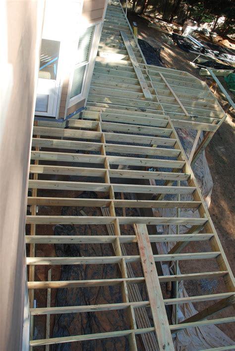 Ground Deck Framing