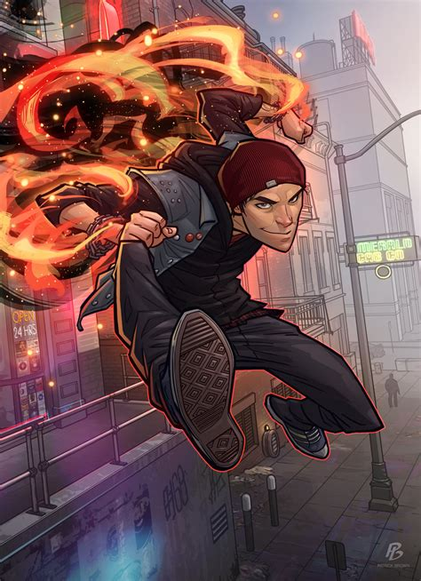 Rogue Vs Delsin Rowe Infamous Second Son Would Would