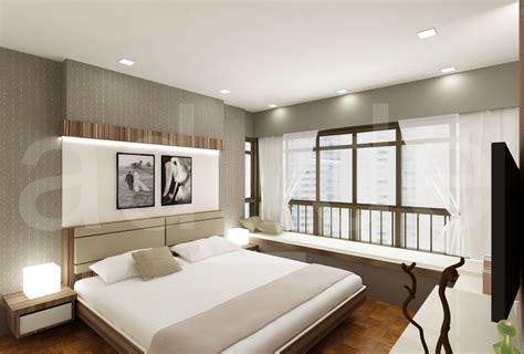 Small Master Bedroom Design Singapore by Interior Designer Adrian Lau Hdb And Condo Bedroom 3d