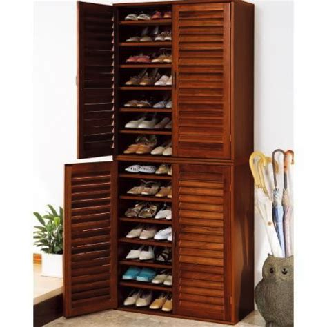 Images Of Shoe Racks Cabinets by 21 Pair Wooden Shoe Cabinet With Adjustable Shelves Buy