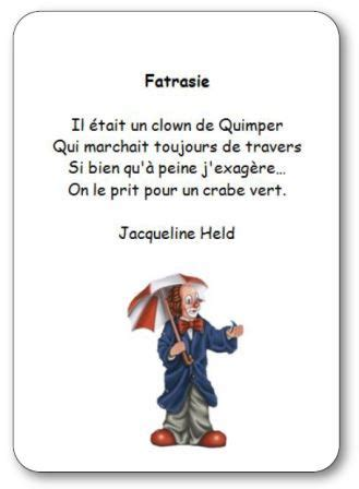 poesie fatrasie de jacqueline held poesie illustree