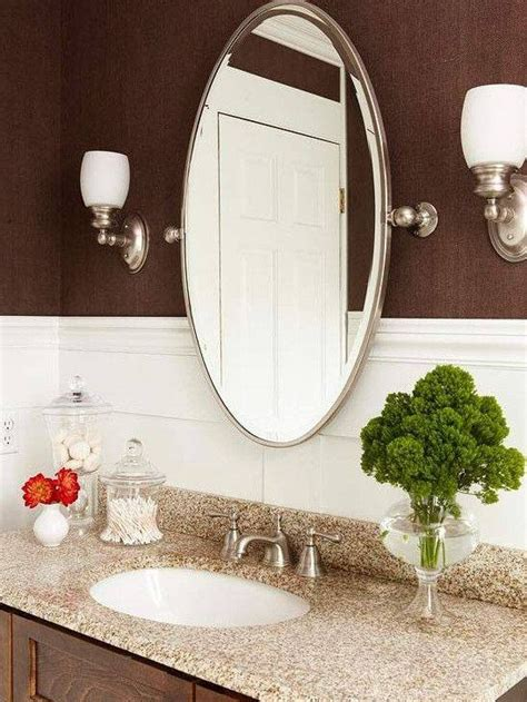 bathroom mirror oval 30 photo of oval bevelled mirrors 11064
