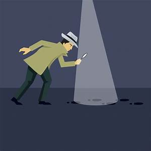 Investigation Illustration Vector In Flat Color
