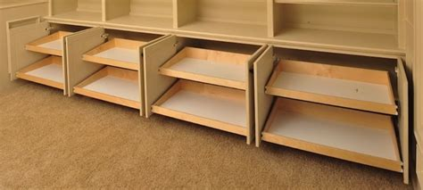 Pull Out Bookcase by The Pull Out Shelf Company