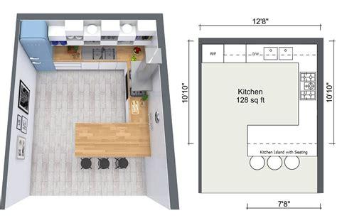 designing a kitchen floor plan 4 expert kitchen design tips roomsketcher 8671