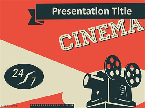 cinematography powerpoint template