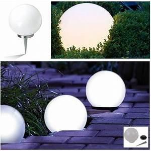 Lampe Exterieur Solaire : lampe boule solaire design diam tre 30 cm achat vente ~ Edinachiropracticcenter.com Idées de Décoration