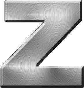presentation alphabets brushed metal letter a presentation alphabets brushed metal letter z 31331