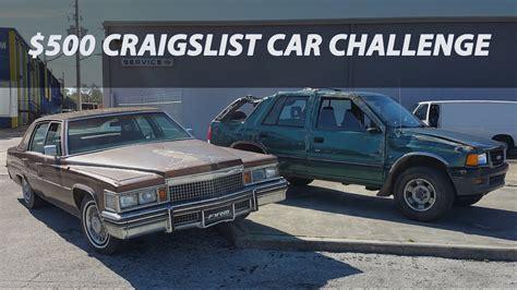 craigslist car challenge ep youtube