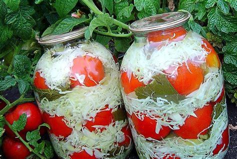 dzivei.eu - Ar kāpostiem marinēti tomāti. Ēd jau drīz vai ...