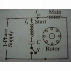 Capacitor Start Motors  Diagram  U0026 Explanation Of How A