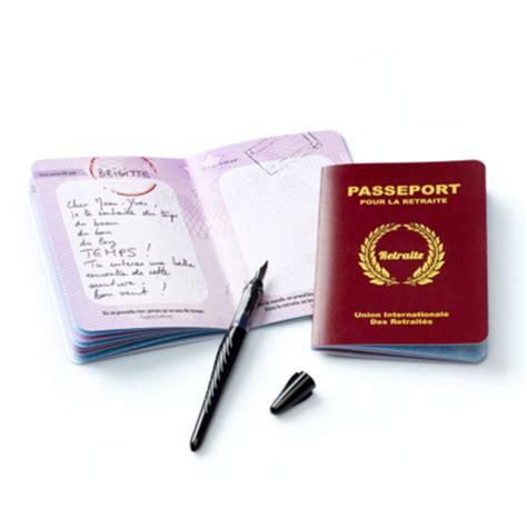 bureau de la retraite carte passeport pour départ en retraite le parfait