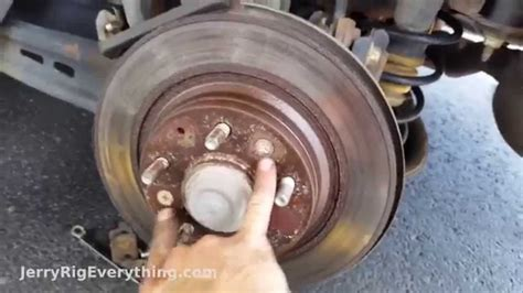 Mazda 6 Brake Pad and Rotor Replacement, Easy Repair