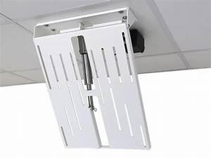 Elektrische Tv Deckenhalterung : monlines mmotion flip elektrische wei e tv deckenhalterung ~ Orissabook.com Haus und Dekorationen