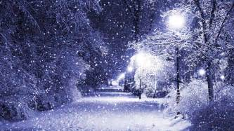 snowing in the night walldevil