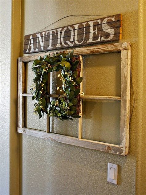 Do you assume window pane wall decor seems great? All in the Detail: vintage window frame