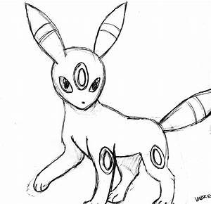 Pokemon Umbreon Line Art Images | Pokemon Images