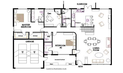 floor plan bungalow open concept floor plans small open concept