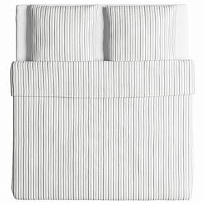 Ikea Bettwäsche Weiß : ikea bettw sche garnitur h st ga grau wei gestreift drei gr en ebay ~ Markanthonyermac.com Haus und Dekorationen