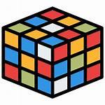 Rubik Icon Activity Squares Activities Cube Icons
