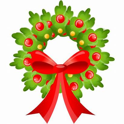 Christmas Clipart Wreath Clip Domain Clipground Australia
