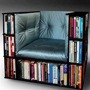 Library, Chair, U00bb, Petagadget