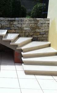 Escalier Extrieur En Bton Prfabriqu Sur Mesure