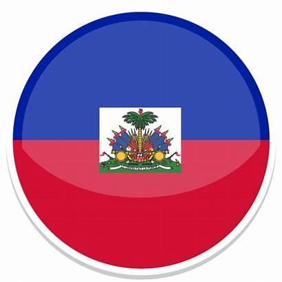 Haiti Icon Flag Flags Icons Round Haiti