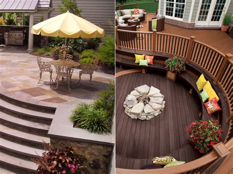 patio vs deck outdoor standoff decks vs patios house counselor