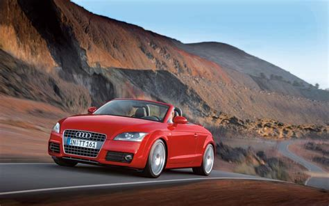 Audi Roadster First Drive Road Test Motor