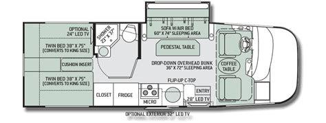 thor axis 25 1 motorhome floor plan motorhome reviews