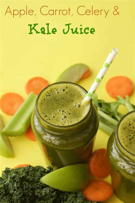 juice celery carrot apple kale juicing lovingitvegan loving vegan