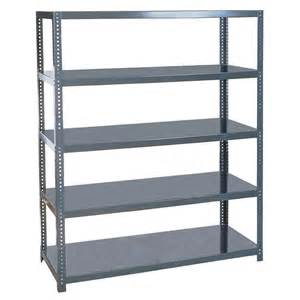 edsal 96 in h x 72 in w x 24 in d 5 shelf steel