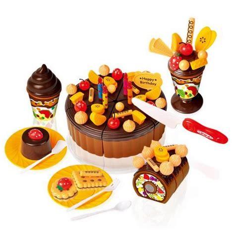 jeux de cuisine de de gateau 73pcs enfants cuisine jouets enfants gâteau gâteau d
